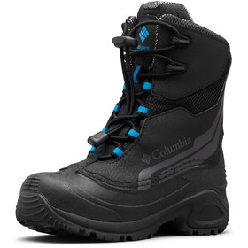Columbia Bugaboot Plus IV Omni-Heat Saappaat Nuoret, black/hyper blue
